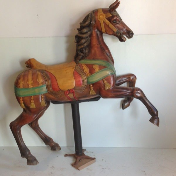 Wooden carousel horse patterns