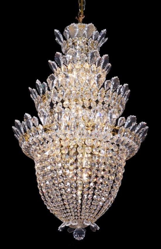 1000 images about a home schonbek on pinterest schonbek - Schonbek 24 Light Crystal Chandelier Lot 822