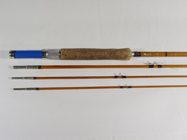 312 montague sunbeam fly rod lot 312 for Montague fishing rod