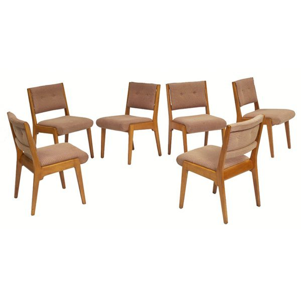 935 jens risom dining chairs six lot 935 - Jens risom dining chairs ...