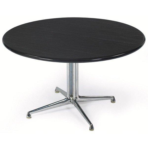 759 Nelson La Fonda Coffee Table Round Slate Top Lot 759