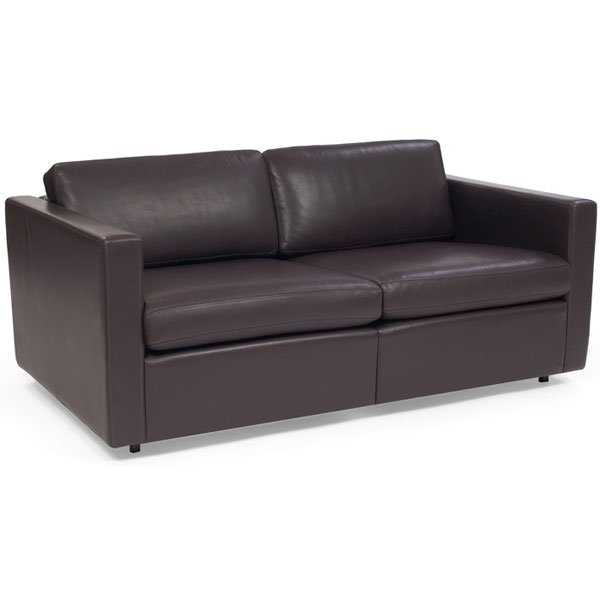 1089 Charles Pfister Sofa Knoll Spinneybeck Leather