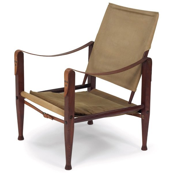 "978 Kaare Klint ""Safari"" chair Denmark Lot 978"