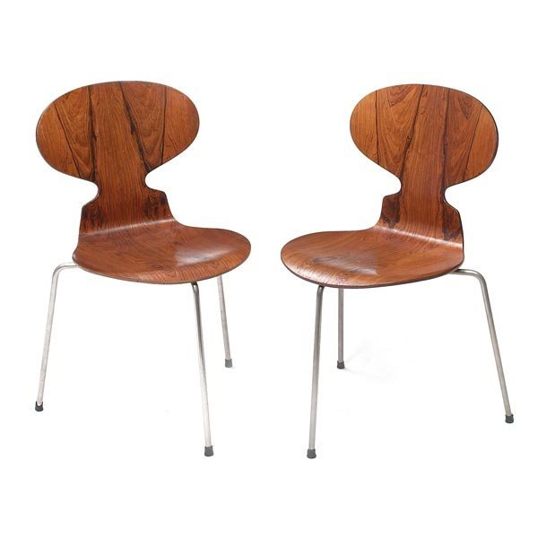 887 arne jacobsen ant chairs lot 887. Black Bedroom Furniture Sets. Home Design Ideas