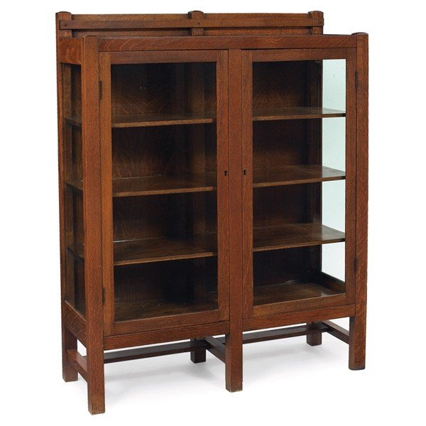 arts and crafts china cabinets