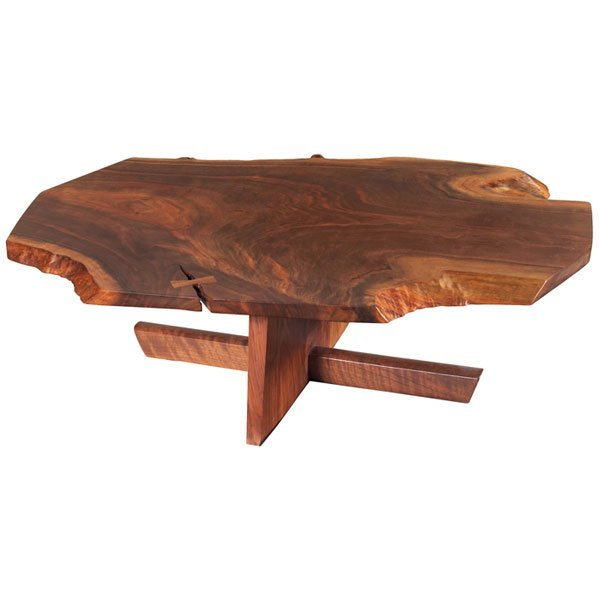 825 George Nakashima Minguren I Coffee Table Walnut Lot 825