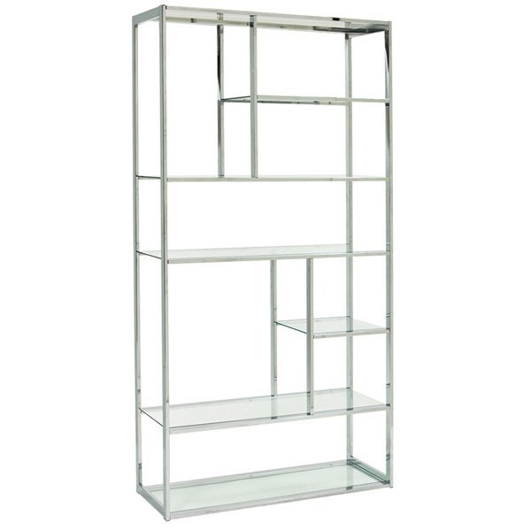 Free Standing Glass Shelving Unit - Glass Designs