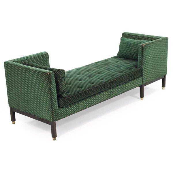 Edward Wormley Tete A Tete Sofa By Dunbar Model 5944