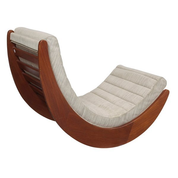 verner panton relaxer 2 rocking chair rosenthal lot 903