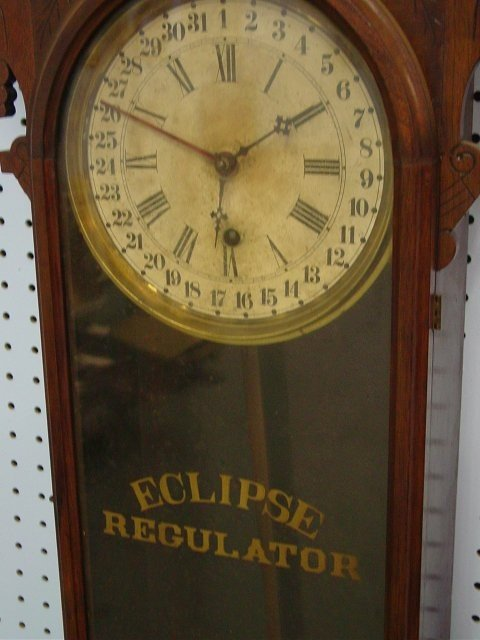 Eclipse Regulator Calendar Clock Antique Clocks Price