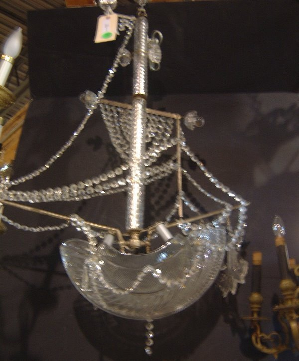 Egyptian Boat Chandelier by Andrew Brott - 1020 Glass Art and Decor