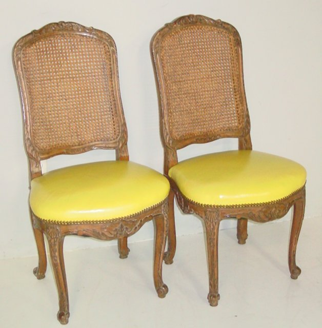 set of 8 country french dining room chairs lot 1219
