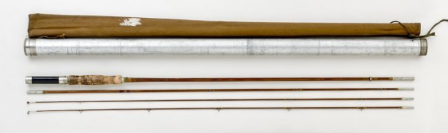 361 9 39 montague manitou fly rod lot 361 for Montague fishing rod