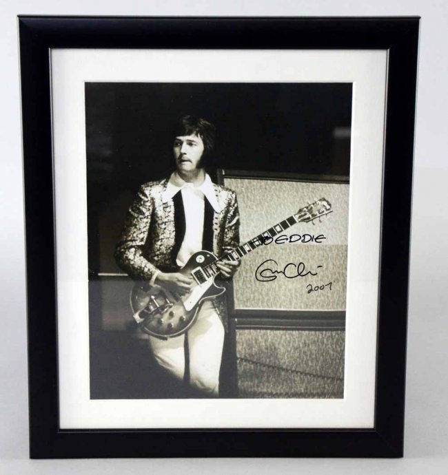 eric clapton a signed black and white photograph lot 114. Black Bedroom Furniture Sets. Home Design Ideas