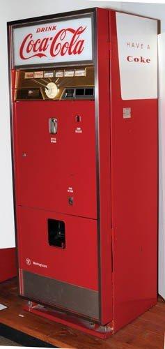 701 39 61 coca cola westinghouse wc 78md machine lot 701. Black Bedroom Furniture Sets. Home Design Ideas