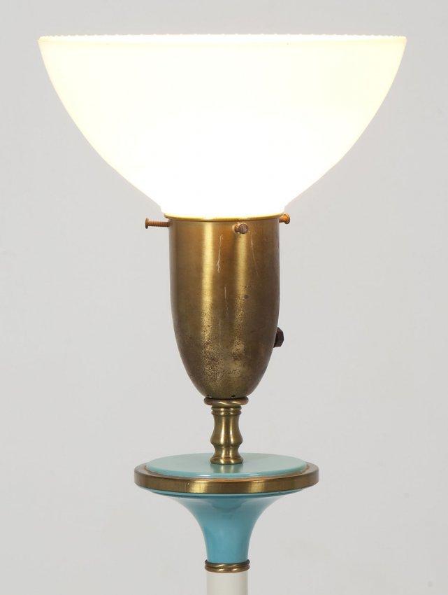 rembrandt modern floor lamp lot 274. Black Bedroom Furniture Sets. Home Design Ideas