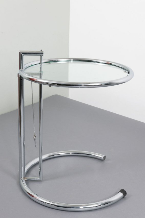 Eileen gray 39 e 1027 39 side table lot 246 - Eileen gray table original ...
