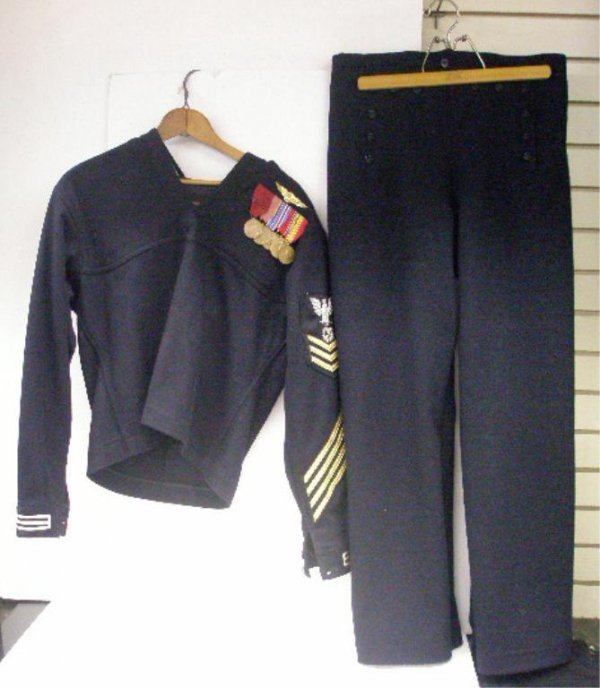 World War II United States Navy Uniform