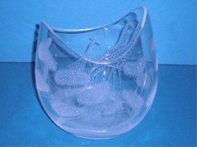 Kosta Boda Tones Blue Vase | Overstock.com