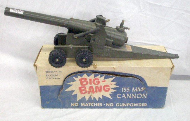 dating big bang cannons Model: 16 fdb this is the model 16f (siege field gun), which is the largest of the big-bang toy cannons the big bang cannon is also known as the bangsite cannon or.