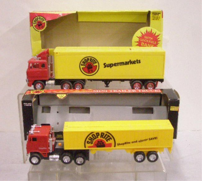 6: Battery Operated Shop Rite Supermarket Trucks : Lot 6