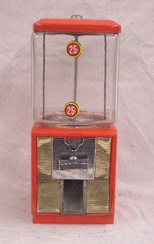 vintage northwestern gumball machine