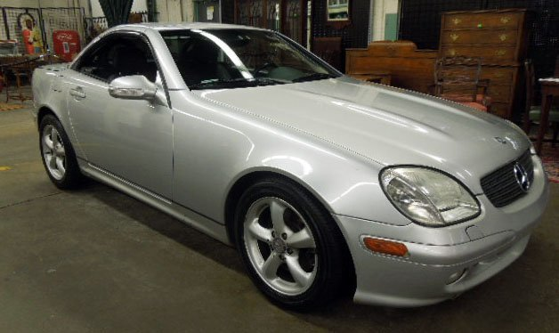 2001 mercedes benz slk320 lot 211 for 2001 mercedes benz slk320