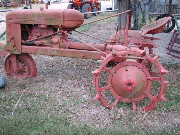 Antique Tractor Steel Wheels : Avery red antique steel wheel tractor lot