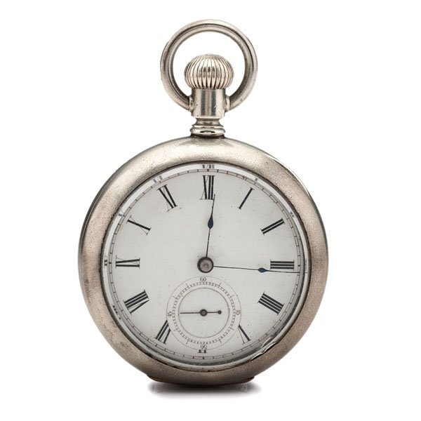 how to open illinois pocket watch