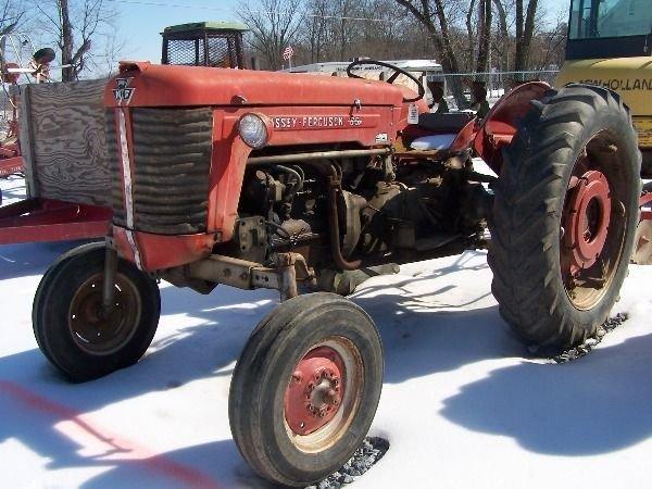 Massey Ferguson 65 Wheels : Massey ferguson diesel tractor w f lot a