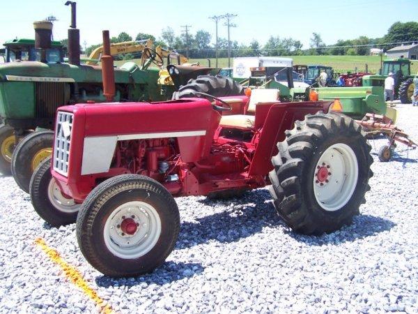 International 574 Tractor Seat : International tractor lot