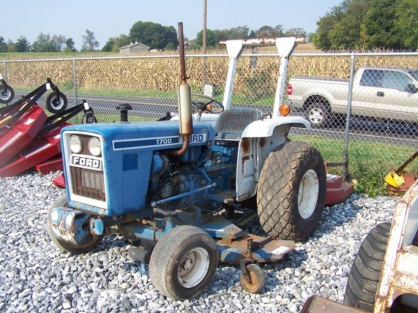 Ford Tractor 1500 Series : Ford tractor rops