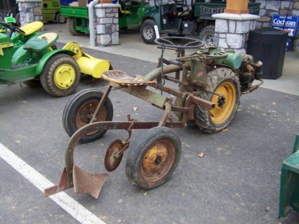 119d bolins ride o matic antique tractor lot 119d
