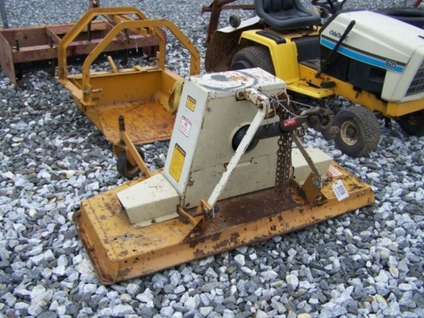 Woods Finish Mower : A woods rm pt finish mower for tractors lot