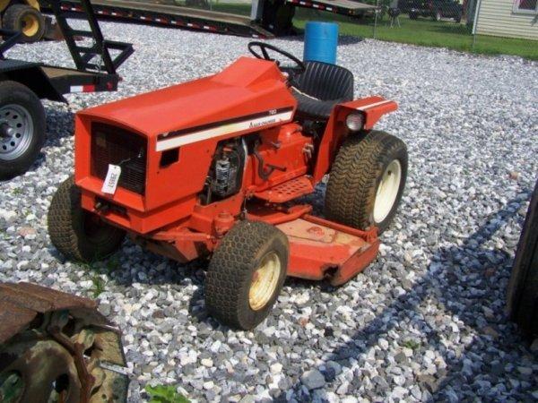 Allis Chalmers Garden Tractors : Original allis chalmers lawn garden tractor