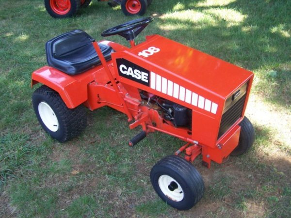 Case Lawn Mowers : Case lawn garden collector tractor lot