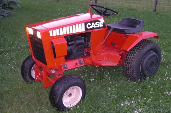 Case 222 Garden Tractor Parts : Very nice case lawn garden tractor lot