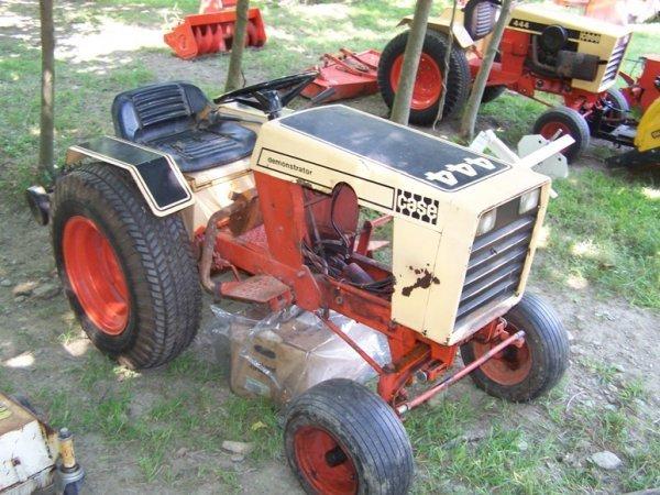 Case 444 Garden Tractor Parts : Case golden demonstrator lawn garden lot