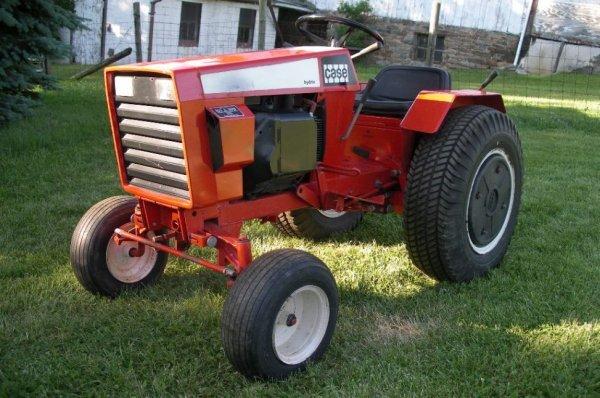 Case 446 Garden Tractor : Case lawn garden tractor nice lot