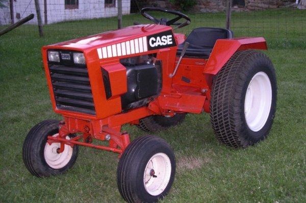Case 446 Garden Tractor : Case lawn garden tractor original lot