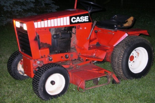 Case Garden Tractor Parts : A nice case lawn and garden tractor lot