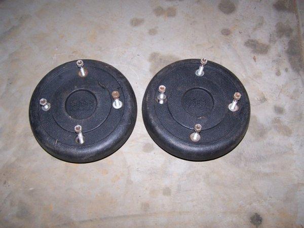 2463 Case K8 Wheel Weights For Garden Tractor Lot 2463