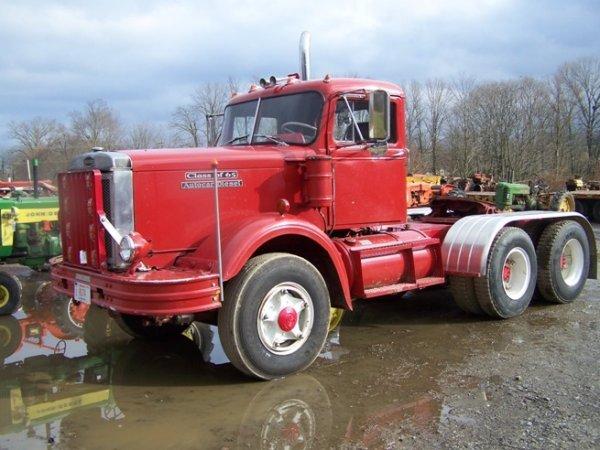 old restored tractor trucks for autos post. Black Bedroom Furniture Sets. Home Design Ideas