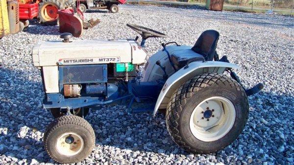 Mitsubishi Compact Tractors : Mitsubishi mt compact tractor lot