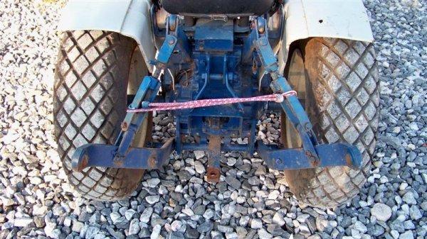4123  Mitsubishi Mt372 Compact Tractor   Lot 4123