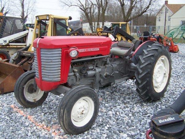 Massey Ferguson 65 Wheels : Massey ferguson gas farm tractor fenders lot