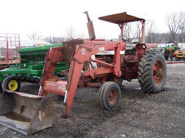 966 International Tractor : Ih international tractor w factory rops lot