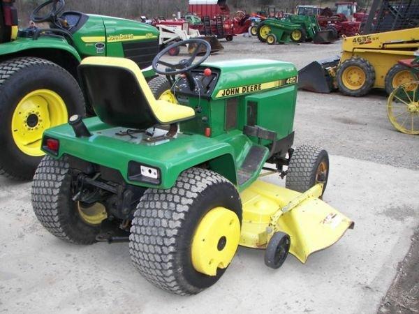 559b Nice John Deere 420 Lawn Tractor W Mower Lot 559b