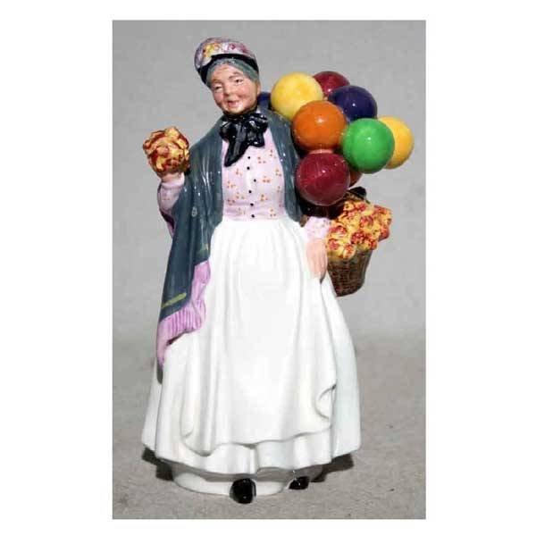 2379: Ceramics - A Royal Doulton balloon lady figurine, : Lot 2379