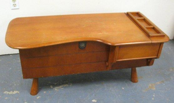 1076 Cavalier Maple Coffee Table Cedar Chest Lot 1076